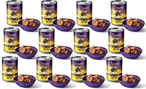 Zignature Grain Free Turkey Canned Dog Food 13oz (12 Pack)