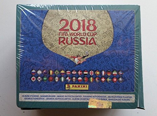 International Album (Panini Stickers 2018 Russia World cup international BOX of 104 packs + Free international album (5 Stickers each pack total of 520))