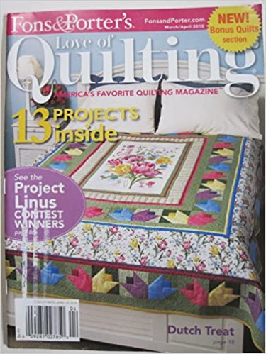 Quilting Fons And Porters For The Love Of Quilting Volume 15