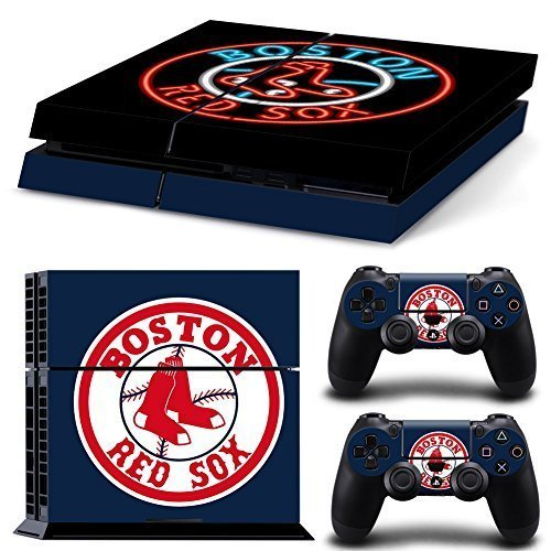 GoldenDeal PS4 Console and DualShock 4 Controller Skin Set - Baseball MLB - PlayStation 4 Vinyl