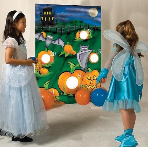 Pumpkin Bean Bag Toss (Dance Halloween Pumpkin)