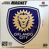 Orlando City SC Lions 12'' Vinyl Auto Home Magnet MLS Soccer Football Club