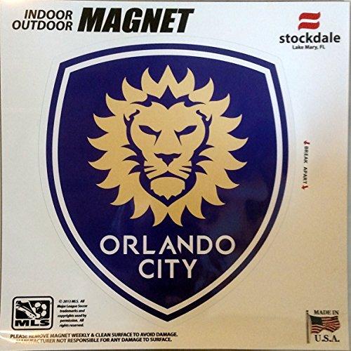 Orlando City SC Lions 12'' Vinyl Auto Home Magnet MLS Soccer Football Club by Stockdale