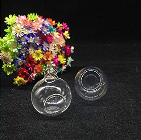 USA Hanging Ball Glass Flower Planter Vase Terrarium Container Landscape Bottles