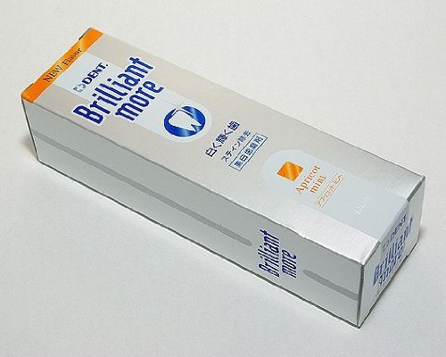 Lion Brilliant More Apricot Mint 90g 10 Tubes (Made in Japan)