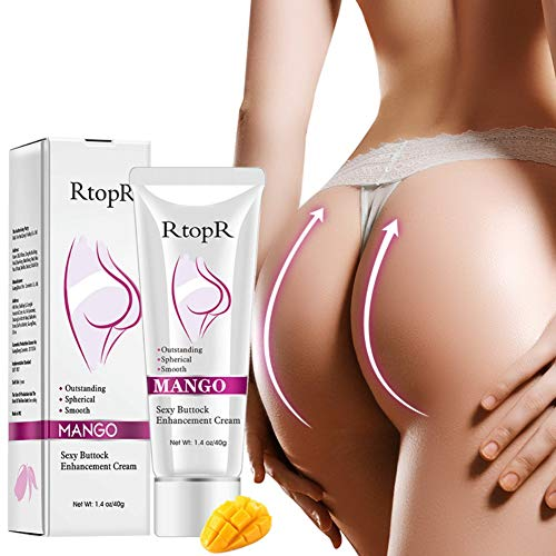 Shouhengda Mango Sexy Buttock Enhancement Cream Improves Back And Leg Pain Eliminate Printing And Firming buttock Effective Shape Hip Curve (Buttock Care Lift)