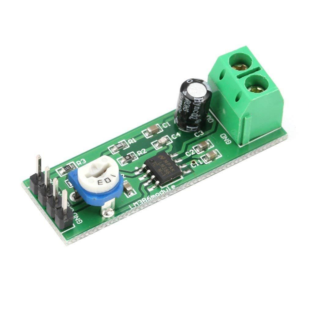 LM386 Super Mini 200X Modulo scheda amplificatore di potenza Strumento elettronico mono-canale Strumento audio Amplifica il volume regolabile