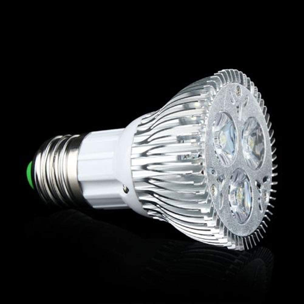 Jewtom E27 LED Dimmable//Non-dimmable Warm//Cool Light Bulb Aluminum E27 Reflector Bulb