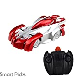 Smart Picks 4CH Remote Control Spiderman Wall Climbing Climber Stunt Toy Car( Color May Vary)