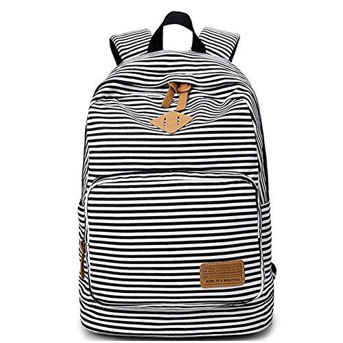 cute black teen side backpack - 9