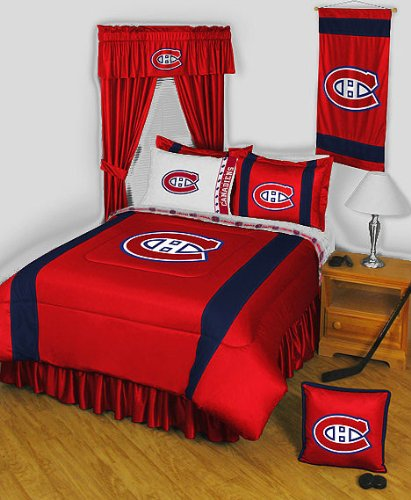 NHL Montreal Canadiens - 5pc BED IN A BAG - Queen Hockey Bedding Set