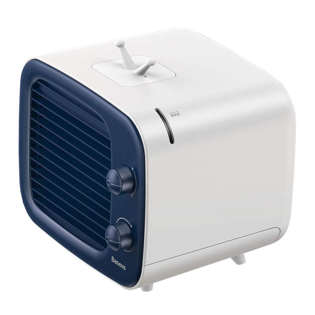 Personal Air Conditioner Fan Portable Air Cooler Blower Noiseless Mini Desktop Humidifier Purifier 3-in-1 Fan for Bedroom Office Travel | 3 Gear Speed | USB adapter