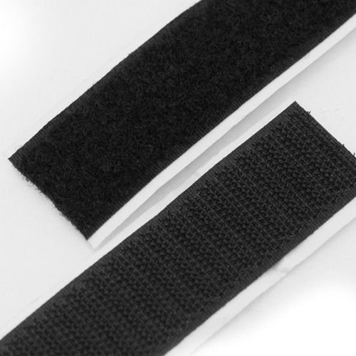 (Victor VD-01T Universal Car Interior Strong Double Sided Plastic Fixing Tape Black Dash - 2 Piece)