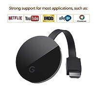 Saiwill Wireless WiFi Display Dongle TV Empfänger Adapter 1080P Full HD Unterstützung Chromecast für Miracast Airplay DLNA TV Stick für Android/Mac / IOS