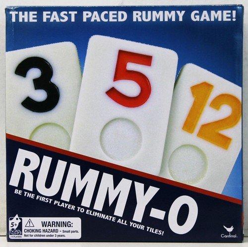 Cardinal CARDINAL RUMMY O GAME Rummikub
