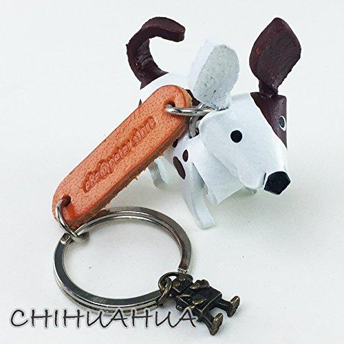 silver bulldog keychain - 7