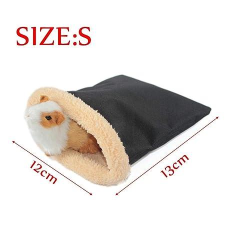 Lucky Family Saco de Dormir para Mascotas Pequeño Animal doméstico Ardilla Ardilla Oso Saco de Dormir