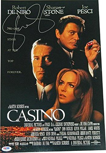 Sharon Stone signed Casino 11x17 Movie Poster- Hologram (entertainment/movie memorabilia) - PSA/DNA Certified from HollywoodMemorabilia