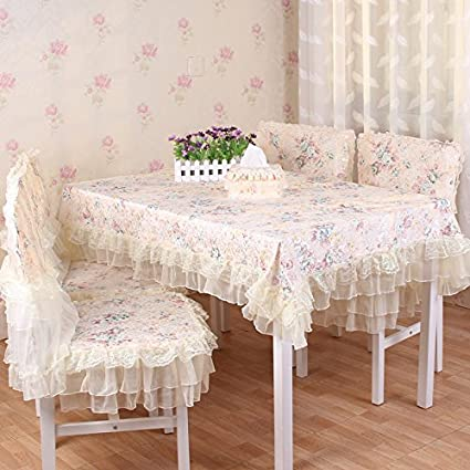 ccd4c810a11 Buy Table cloth rustic dining table cloth tea table cloth dining table  chair covers set cushion towel cover tablecloth (150x150cm