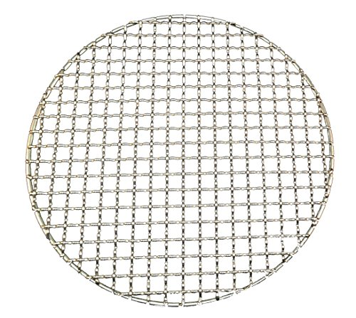 Stainless Steel Super Strong Multi-Purpose Round Cross Wire Mesh for Barbecue Grill (10.6)