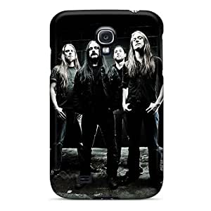 High Quality Phone Cover For Samsung Galaxy S4 With Customized High Resolution Carcass Band Pattern DannyLCHEUNG