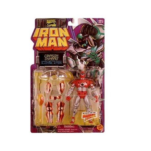 Iron Man Crimson Dynamo with Blastying Action