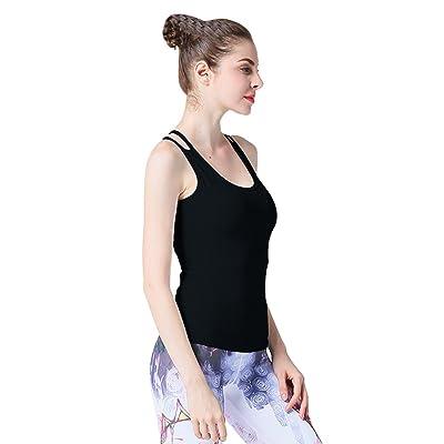 Binhee Femmes Gilets Vêtements De Yoga sans Manches Gilet De Sport