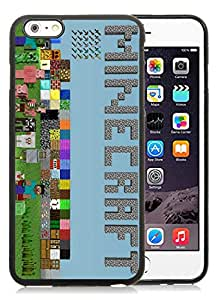 Unique And Fashionable Designed Cover Case For iPhone 6 Plus 5.5 Inch With Minecraft Game Black 023 Phone Case