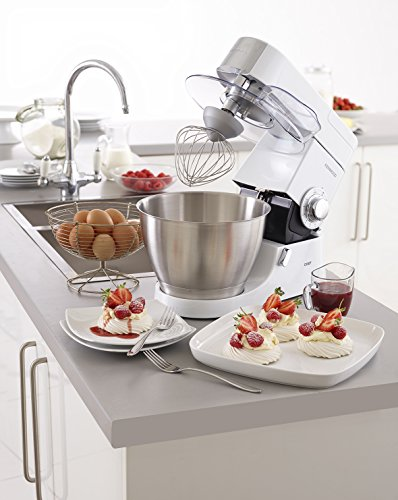 -[ Kenwood KMC515 Chef Premier Food Mixer, 4.6 L - White  ]-