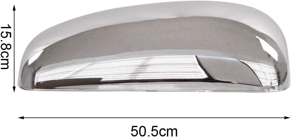 LEAVAN Chrome Side Door Mirror Covers for KENWORTH T370 2008-2015,T660 2008-2017,T800 1987-2019