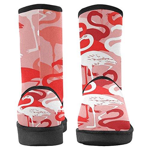 Designed Comfort 24 Unique InterestPrint Womens Boots Multi Winter Boots Snow nqnP1F
