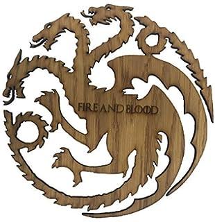 Dragon craft shape Dragon embellishment Mdf laser cut Game of thrones dragon