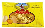 Anna Egg Fettuccine Nests #104, 1 Pound Bags (Pack of 12)