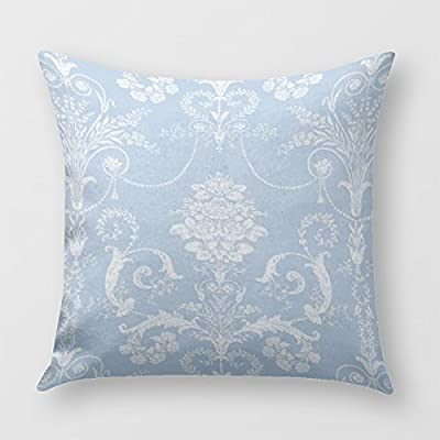 White Pillow covers floral print