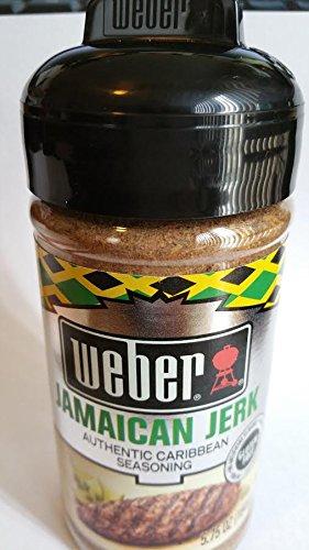 Weber Jamaican Jerk Authentic Caribbean Seasoning (NET WT 5.75 OZ) - Ach Food