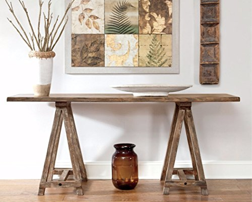 Ashley Furniture Signature Design - Vennilux Console Table - Vintage Casual - Light Brown by Signature Design by Ashley (Image #3)'
