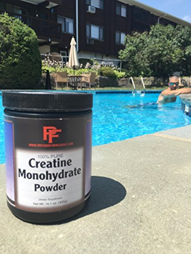 Physique Formula 100% Pure Creatine Monohydrate. Increase Muscle, Endurance & Strength. Crossfit & Paleo friendly with no artificial sweeteners 14.1 Oz.