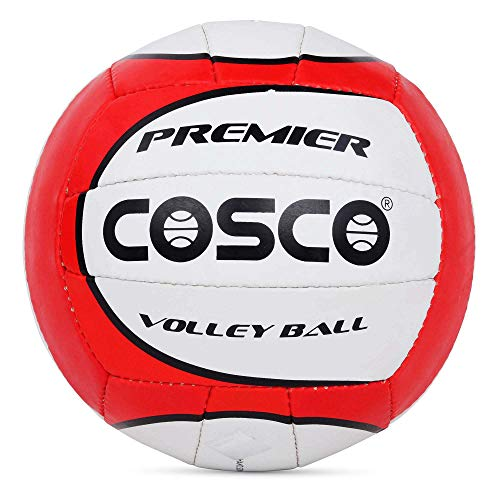 Cosco Premier Volleyball, Size 4  Multicolour