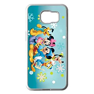 Wish-Store Mickey Mouse and Friends Caroling disney Phone case for Samsung galaxy s 6