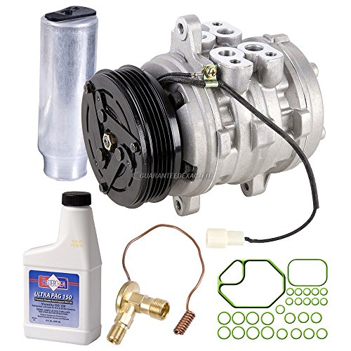 AC Compressor w/A/C Repair Kit For Geo Metro & Suzuki Sidekick - BuyAutoParts 60-82038RK New