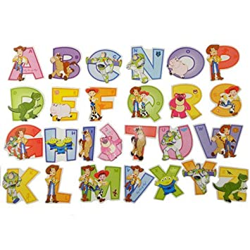 Awesome Toy Story Alphabet Wall Stickers Part 17