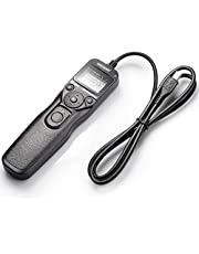 Neewer DSLR Camera Shutter Release Wired LCD Timer Remote Control Intervalometer Time-Lapse Photography Device Compatible with RM-VPR1 Multi-Terminal Plug for Select Sony Alpha Models