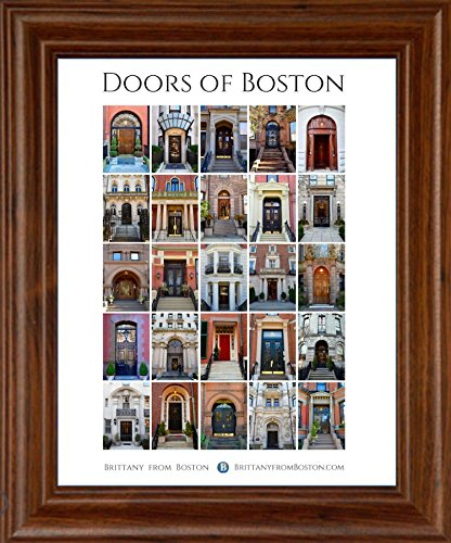 & Amazon.com: Doors of Boston poster: Posters u0026 Prints