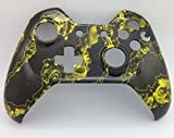 Xbox One Original Yellow Zombie Hazard Hydro Dipped