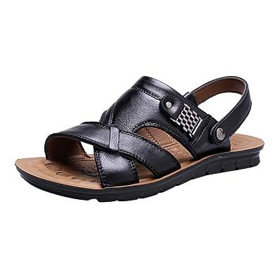 Les Cuir Homme En Et Air Plein Plage Sandales Xmiral Chaussures PmNO0nwyv8