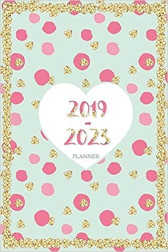 2019-2023 Planner: 60 Months Calendar,Monthly Schedule ...
