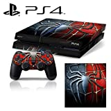 Ci-Yu-Online VINYL SKIN [PS4] - Spider Man - Whole Body STICKER DECAL COVER for PS4 Playstation 4 System Console and Controllers