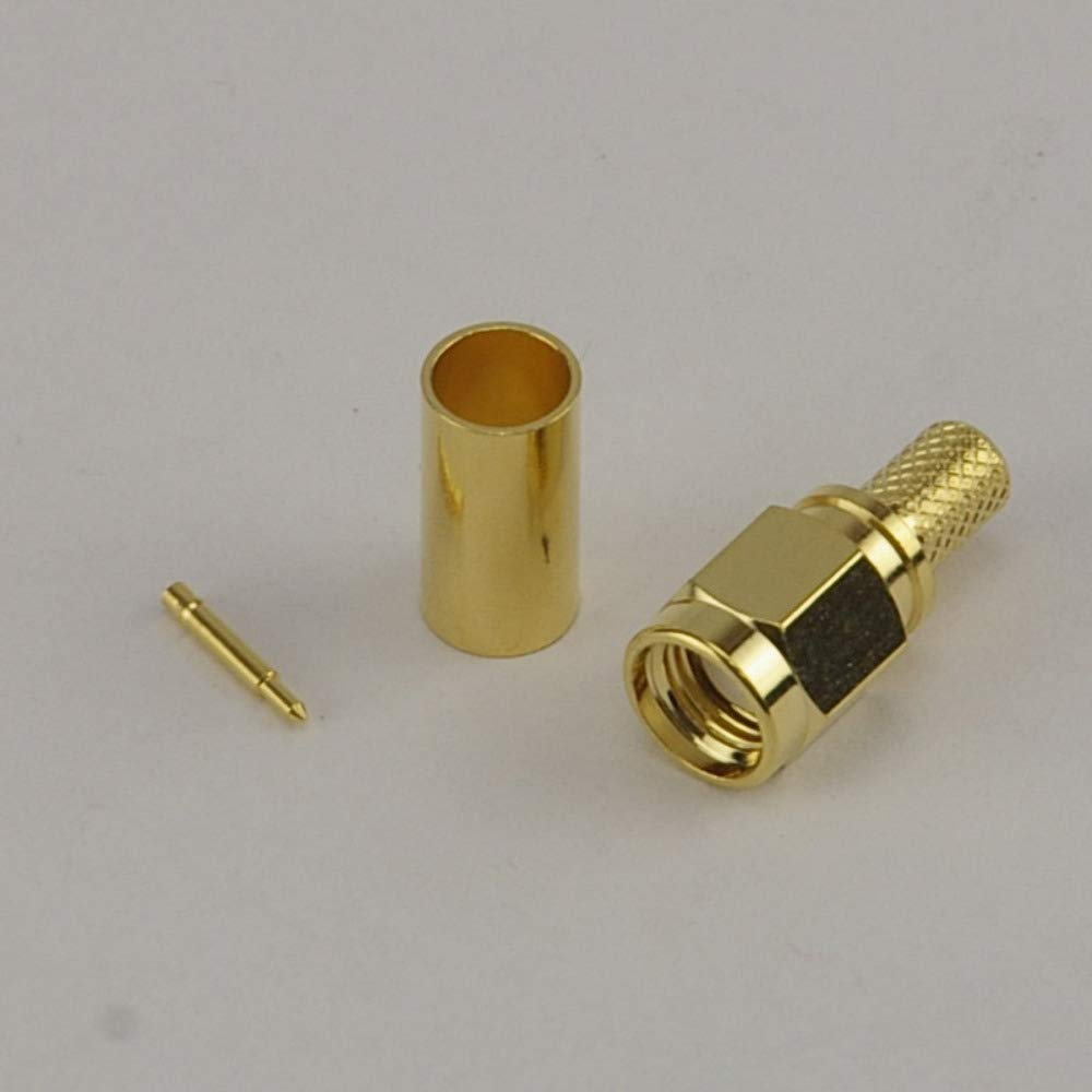 SMA Male Crimp Connector - RG58 Wifi-Antennas