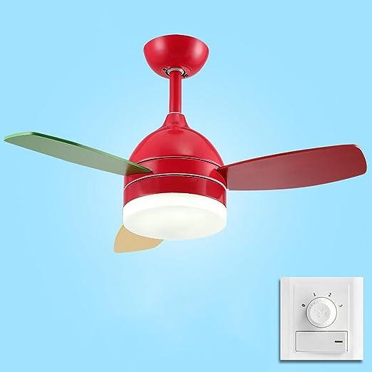 LQ Lámpara de ventilador simple Restaurante Dormitorio Sala de ...