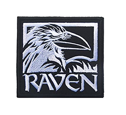 02f94fec1bcc6f Pinkdose® White Size 9 X 8 cm: Odin Raven Patch Viking Emblem Embroidered  Norse Mythology Norway Patch for Backpack: Amazon.in: Home & Kitchen